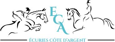 Le logo des ecuries Cote d'Argent